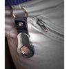 Brelok do kluczy z miejscem na żeton lub monetę