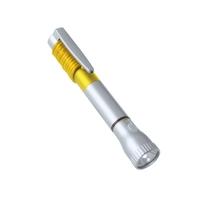 Latarka 2 LED, długopis