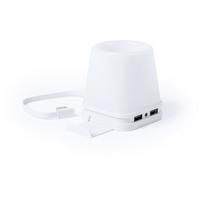 Hub USB 2.0, pojemnik na przybory do pisania, stojak na telefon