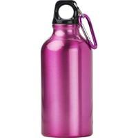 Butelka sportowa 400 ml z karabińczykiem