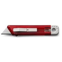 Nóż do tapet z mechanizmem zabezpieczającym