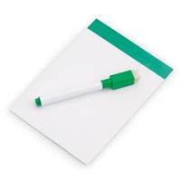 Magnetyczna tablica do pisania, pisak, gumka
