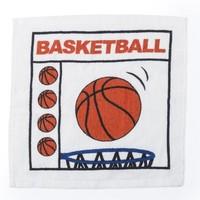 Ręcznik kibica w etui w kształcie piłki